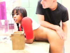 Hot babysitter jenna j foxx blows hung..