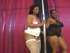 Bbw strippers licking each other\'s wet..