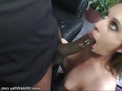 Cheating wife fucks big black cock