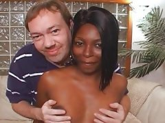Ebony slut wife trained to swallow jizz